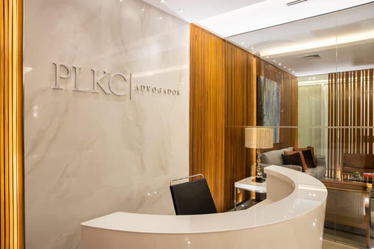 recepção PLKC Advogados